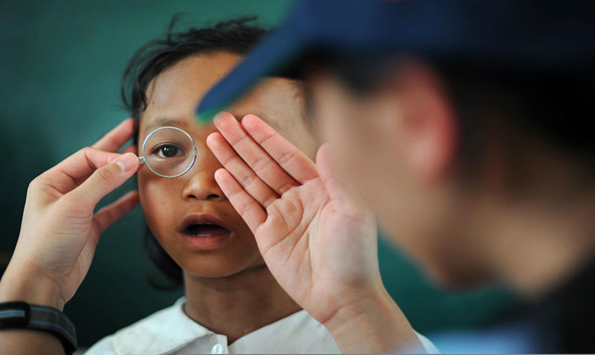 childs-eyesight