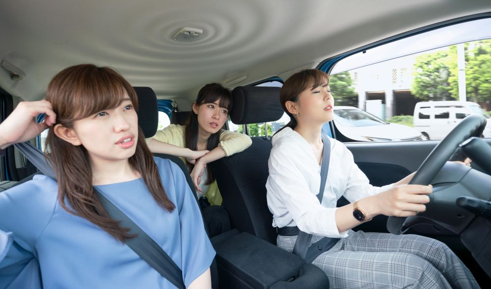 Carpool accidents