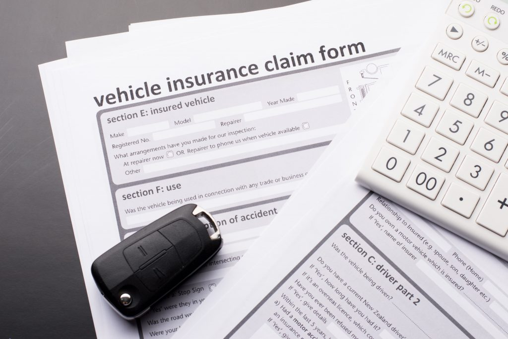 car insurance vehicle claim