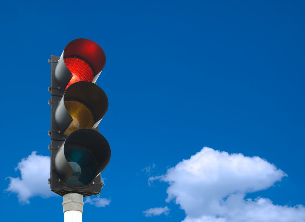 red light signal