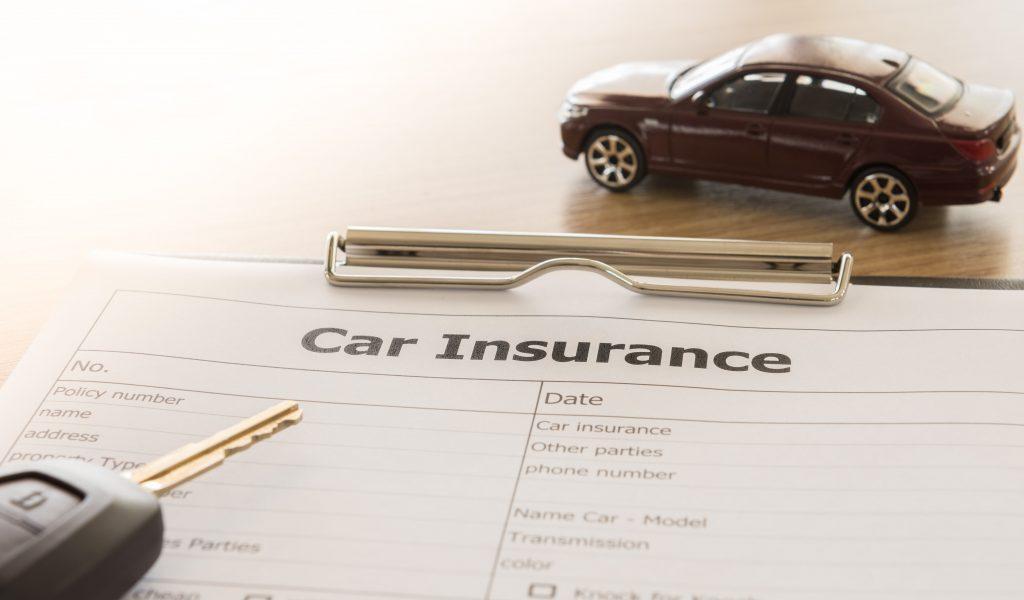 car insurance form