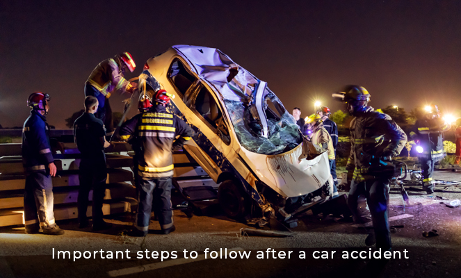 Steps To Follow After a Car Accident