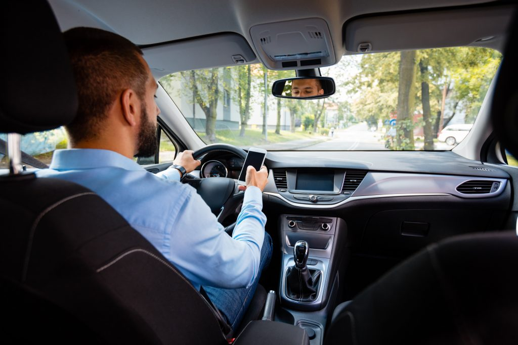 California distracted driving accident lawyer