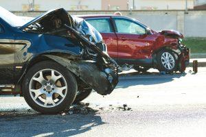ridesharing car accident in California