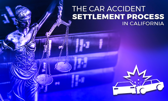 The car accident settlement process in California