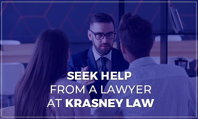 coupling seeking help from a lawyer at krasney law