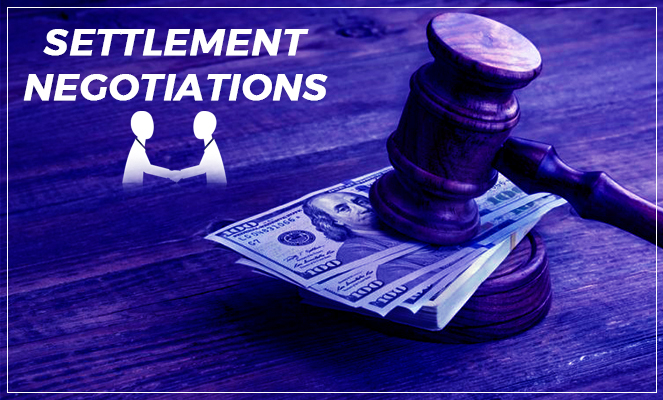 settlement negotiations